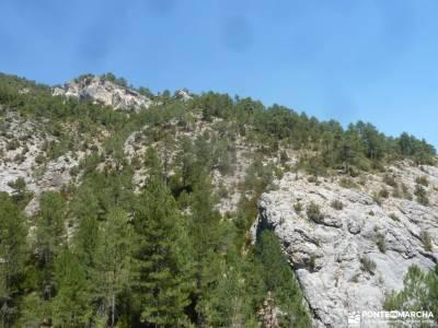 Hoz del Río Escabas-Serranía de Cuenca;grupos de senderismo en sevilla montañera senderismo en es